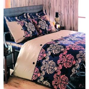 Obliečky s plachtou Esta Brown, 200x220 cm