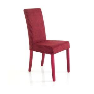 Sada 2 červených jedálenských stoličiek Tomasucci Mary