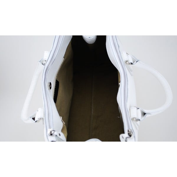 Kožená kabelka Alta Bianco