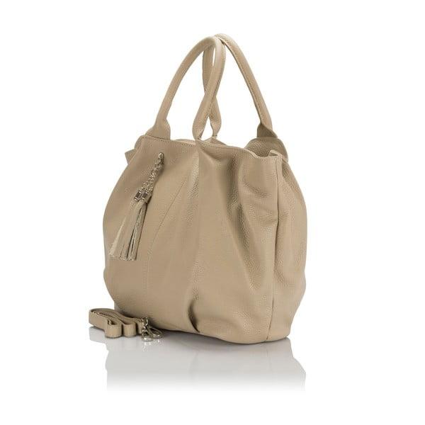 Kožená kabelka Italia 1076 Fango