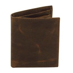 Hnedá kožená peňaženka Friedrich Lederwaren Hunter