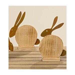 Sada 2 dekoratívnych sošiek Boltze Foxi