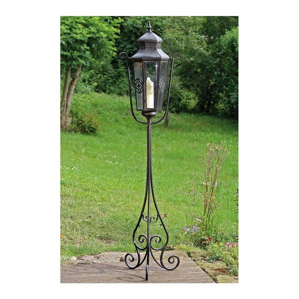 Stojací záhradný lampáš Mert