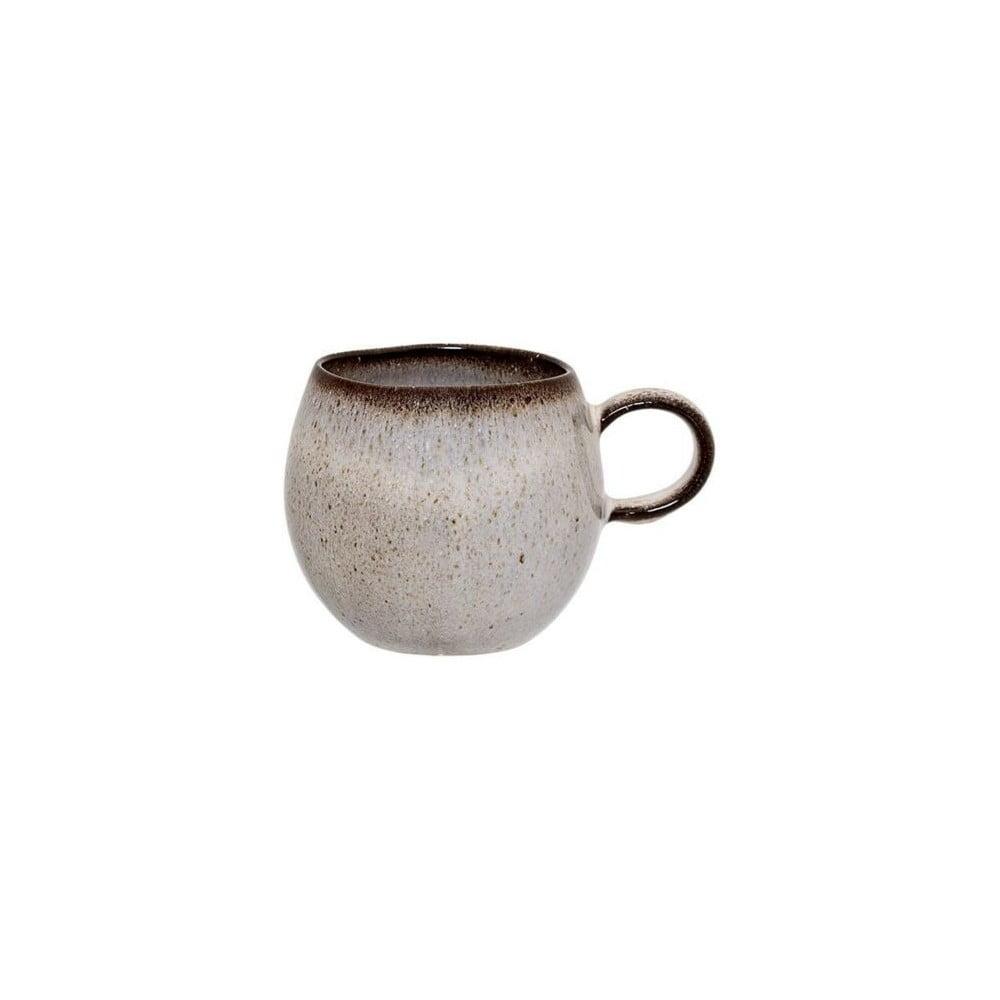 Sivý kameninový hrnček Bloomingville Sandrine