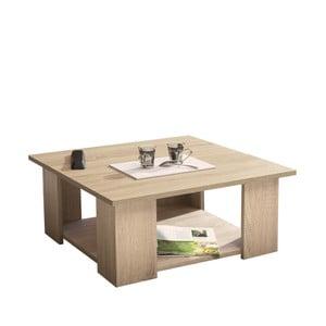 Konferenčný stolík v dekore duba Symbiosis Square, 67 x 67 cm