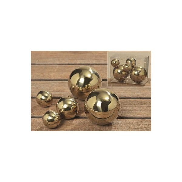 Sada 5 dekoratívnych gulí Galaxy Balls