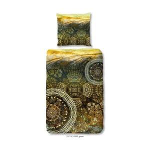 Obliečka na dvojlôžko z bavlneného saténu zouzou Jose, 200 x 200 cm
