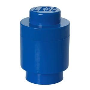Modrý úložný okrúhly boxík LEGO®