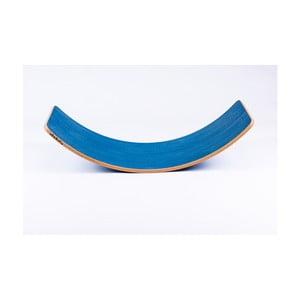 Modrá buková hojdacia doska Utukutu Woudie, dĺžka117 cm