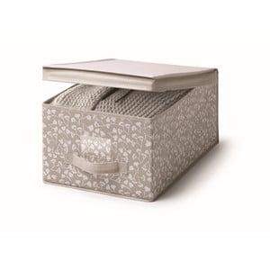 Hnedý úložný box s vekom Cosatto Bocquet, šírka 30 cm