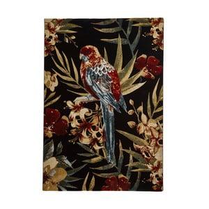 Koberec Think Rugs Tropics Parejo Black & Multi, 160×220 cm