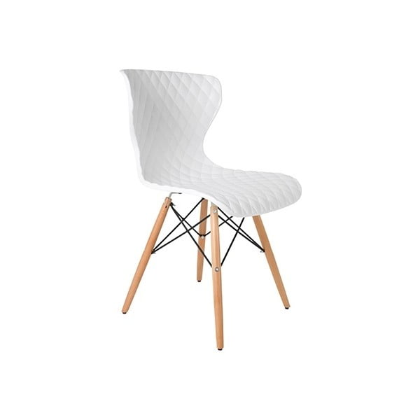 Biela stolička Crow Beech