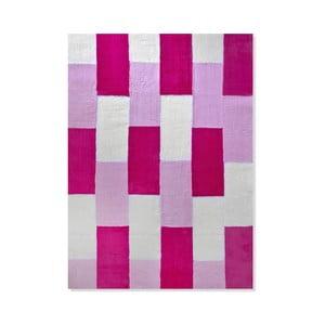 Detský koberec Mavis Pink Geometry, 120x180 cm