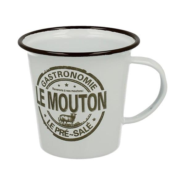 Smaltovaný hrnček Duo Gift Slim Mouton