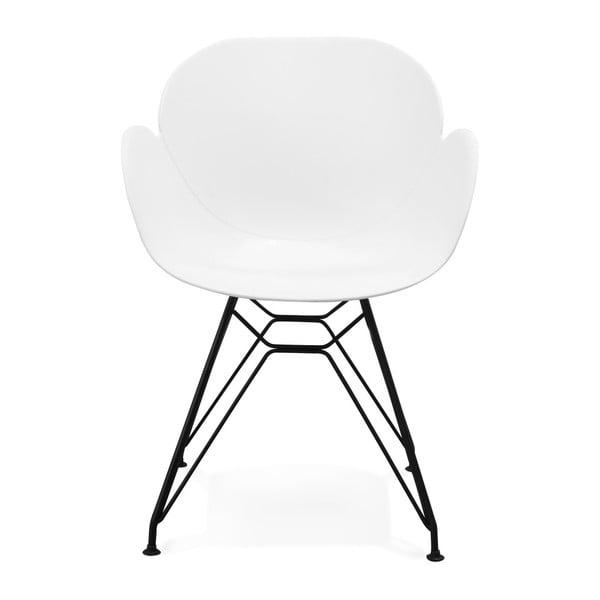 Biela jedálenská stolička Kokoon Umela