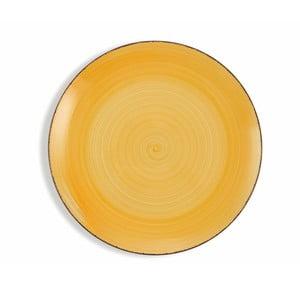 Sada 6 žltých tanierov Villa d´Este Baita, ø 27 cm