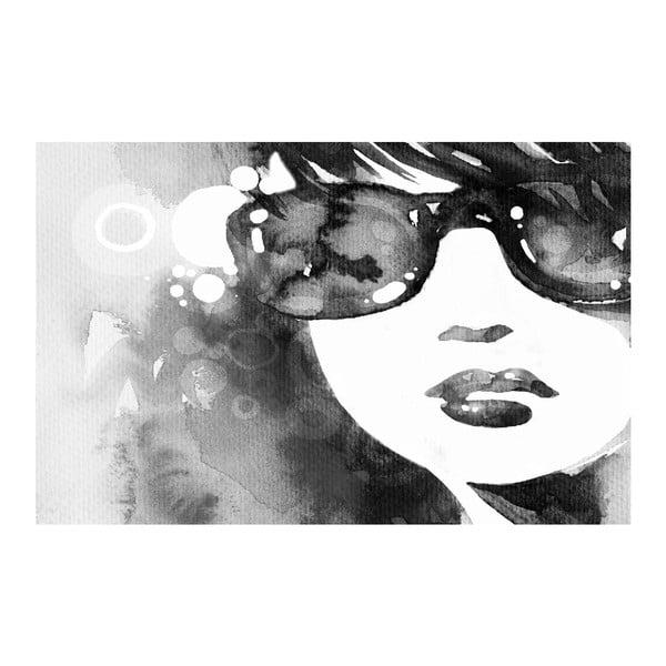 Obraz Black&White Sunglasses, 45 x 70 cm