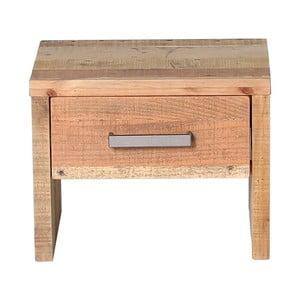 Nočný stolík z borovicového dreva Woodking Albus