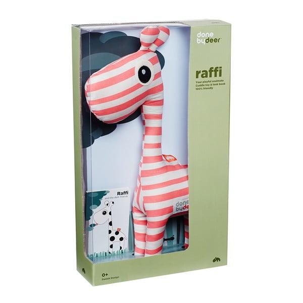 Plyšák Raffi Rapsberry s obrázkovou knižkou