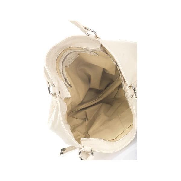Béžová kožená kabelka Krole Kelly