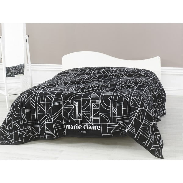 Čierna deka Richard,200x220cm