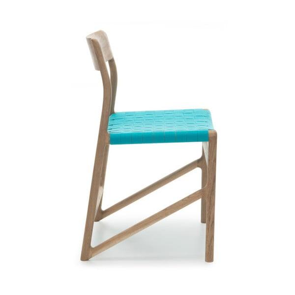 Stolička Fawn White Pigment Gazzda, modrá