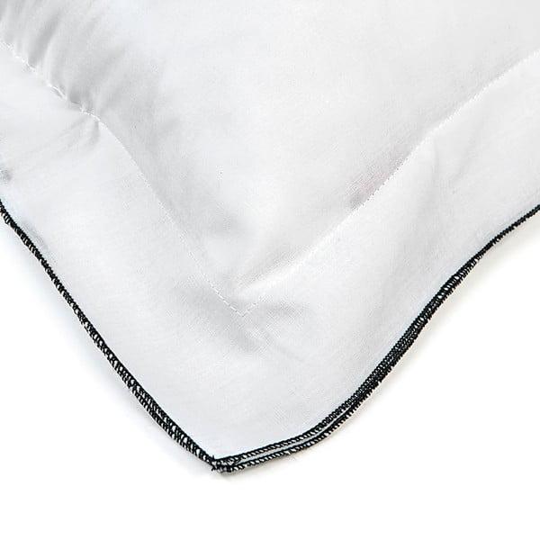Obliečka na vankúš Basic Black, 40 x 40 cm