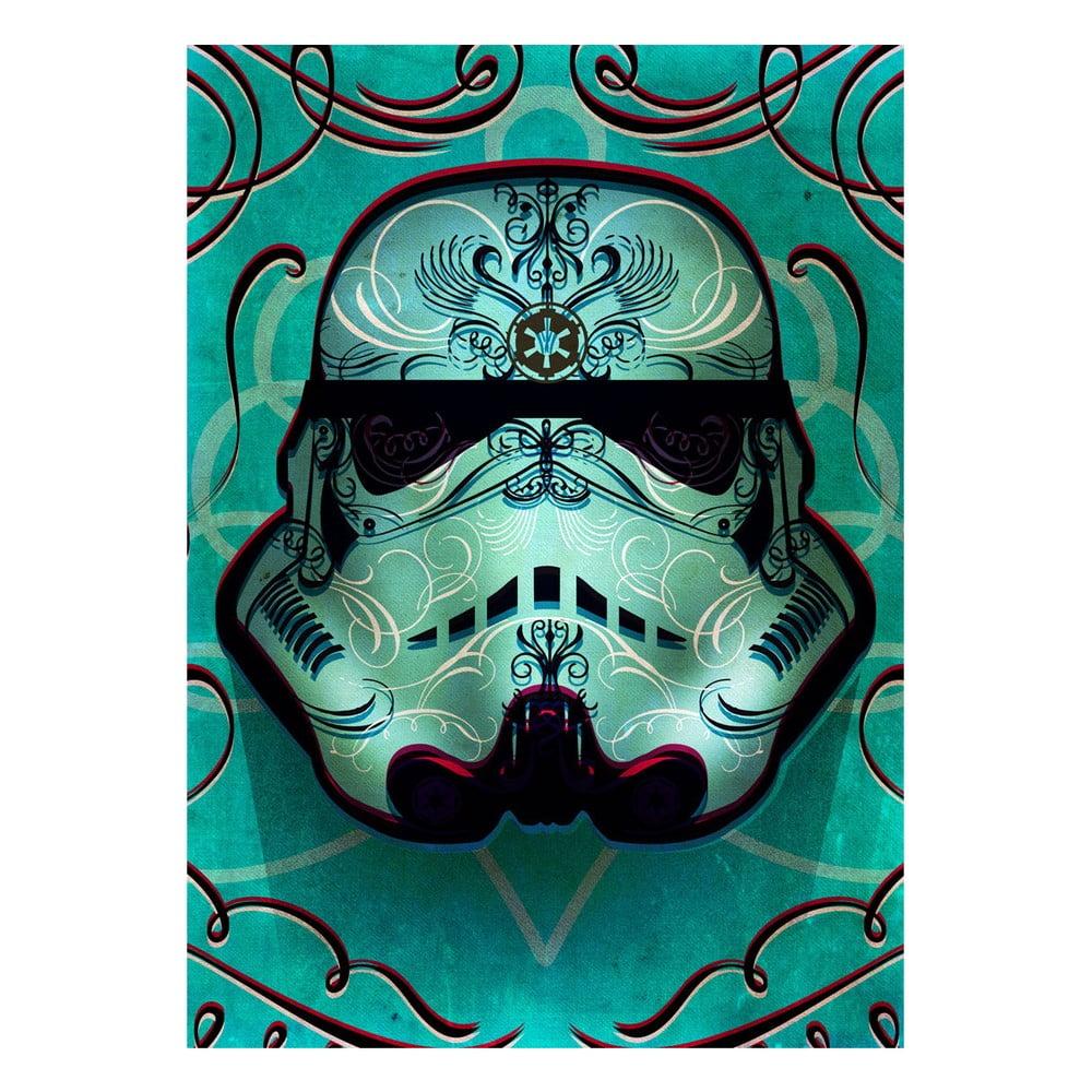 Nástenná ceduľa Masked Troopers - Inked