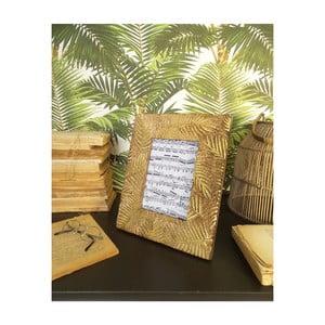 Sada 2 rámčekov z mangového dreva Orchidea Milano Jungle, výška 28 cm