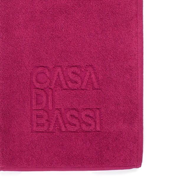 Vínová bavlnená kúpeľňová predložka CasaDiBassi Basic,50×70cm