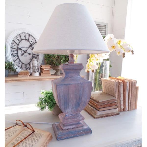 Stolná lampa Rusty Blue, 30x50 cm