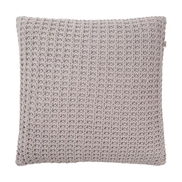 Vankúš Edino Light Grey, 45x45 cm
