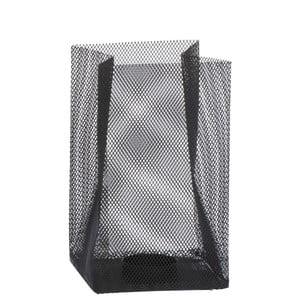 Svietnik Metal Black, 11x11x18 cm
