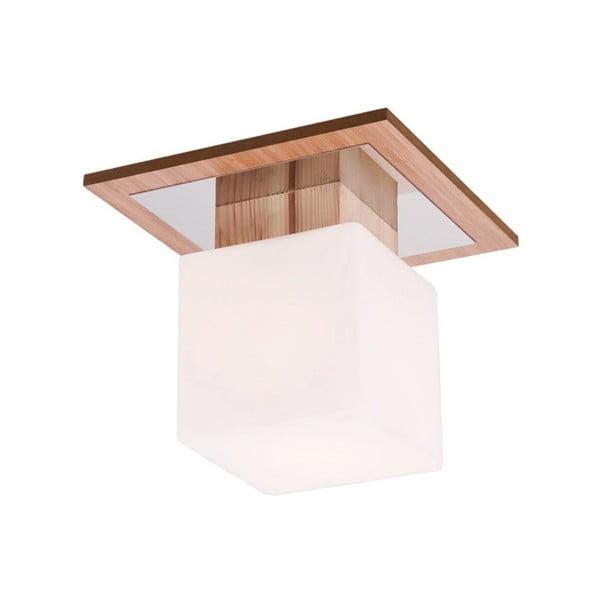 Stropné svietidlo s drevenou základňou Argos