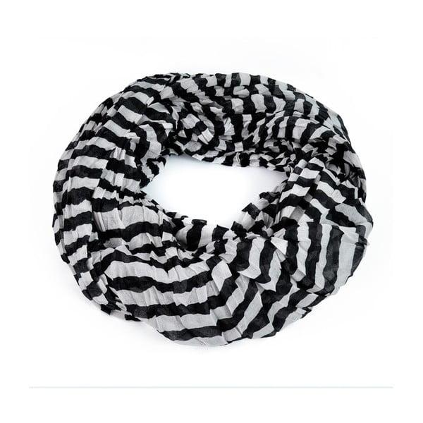 Šatka Stripes Black