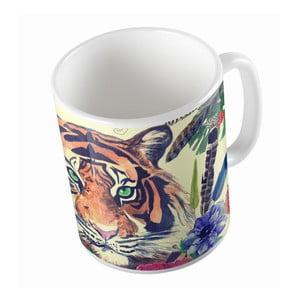Keramický hrnček Tiger In Jungle, 330 ml
