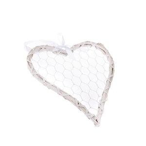 Dekoratívne závesné srdce Dakls Rattano Heart Quatro