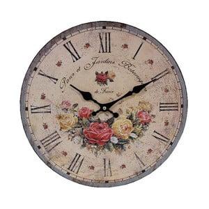 Nástenné hodiny Antic Line Parcs et Jardins