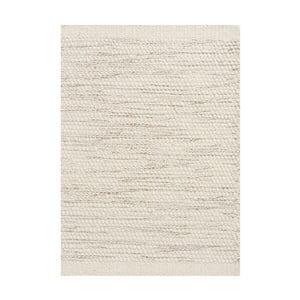 Vlnený koberec Asko, 140x200 cm, slonovinová kosť