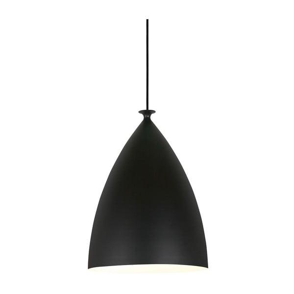Závesné svietidlo Nordlux Slope 20 cm, biele/čierne