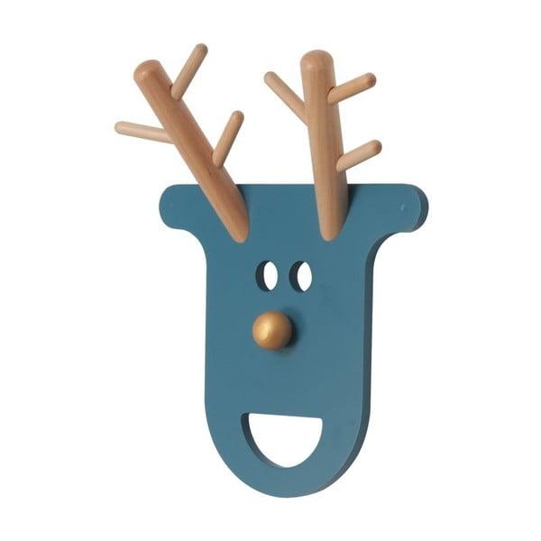 Vešiak O Deer Petrol Blue