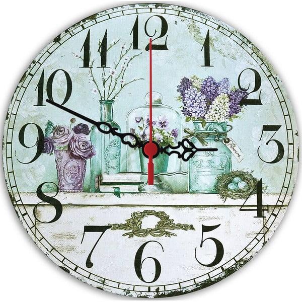 Nástenné hodiny Violet, 30 cm