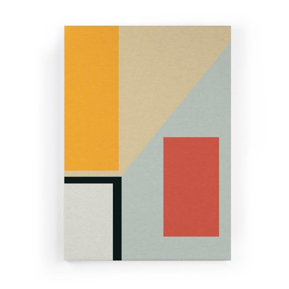 Obraz na plátne Really Nice Things Geometric Perspective, 50 × 70 cm