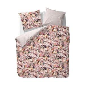 Obliečky Essenza Sayna, 140x220 cm, ružové