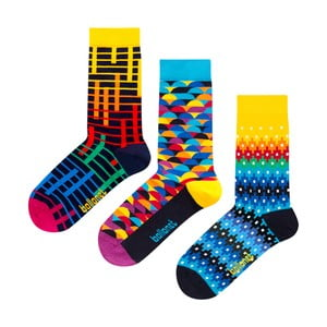 Darčeková sada ponožiek Ballonet Socks Color, veľkosť 41–46