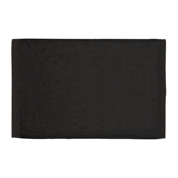 Kúpeľňová predložka 50x80 cm, čierna