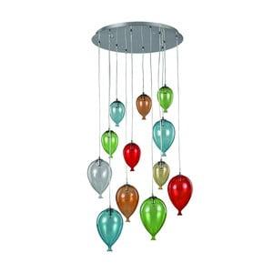 Závesné svietidlo Evergreen Lights Balloons in Colors
