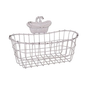 Nástenný dekoratívny košík Antic Line The Bath