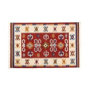 Ručne tkaný koberec Kilim Dalush 001, 90x60 cm