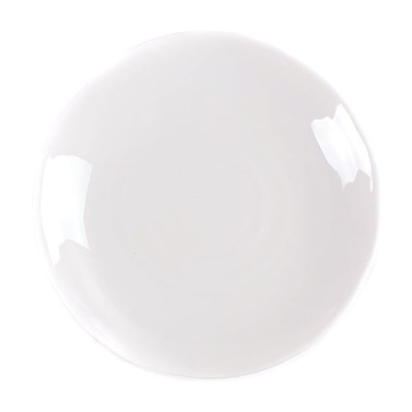 Dezertný tanier Earth 21 cm, biely